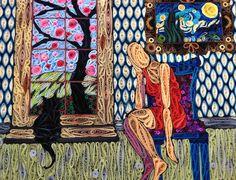 Cat in the window - by: Erin Curet