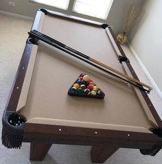 Check Out these Used Pool Tables in Excellent Condition. Jaburek Billiards is Expertly Owned and Operated in Chicago, Illinois With 4 Generations of Experience. 7 Foot Pool Table, Used Pool Tables, Diy Pool Table, Pool Tables For Sale, Outdoor Pool Table, Billiard Pool Table, Billiards Pool, Man Cave, American