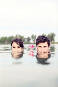 Water Wedding Love