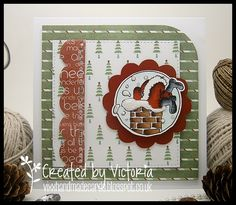 LOTV - Santa Trio with Twas the Night Paper Pad by Vicky Bailey