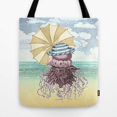 Summer Promenade Tote Bag