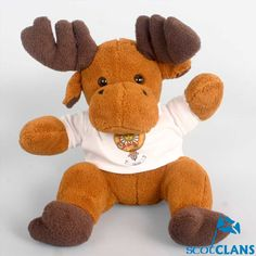 Kerr Clan Crest Reindeer Toy
