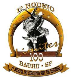 Logo de Rodeio de Bauru 100 Limites.