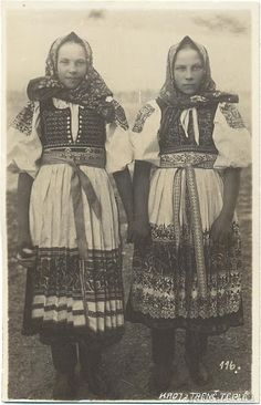 Slovakia in the and century - Most of pictures illustrate rural Slovakia and its peasants who are bearers of Slovak folk culture which is basically pagan, thus interesting for Slavdom as such. Folk Costume, My Heritage, Vintage Pictures, Traditional Dresses, Folk Art, Ethnic, Central Europe, Romania, German