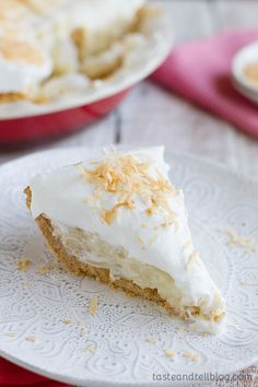 A coconut lovers dream - the perfect Coconut Cream Pie