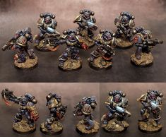 Crimson Fists Space Marines (Sternguard)