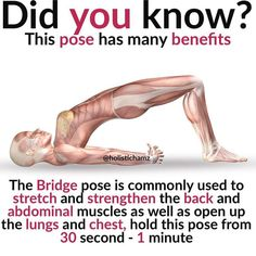 Did you know just 15 minutes of Yoga Practice a day can change your body chemistry & improve your mood completely? If you are a workout freak, yoga won't be your ultimate choice as it does not involve optimal or immense workout sessions. Yoga is not. Health Facts, Health Tips, Health And Wellness, Health Fitness, Health Memes, Fitness Hacks, Yoga Positionen, Yoga In Bed, Yoga Flow