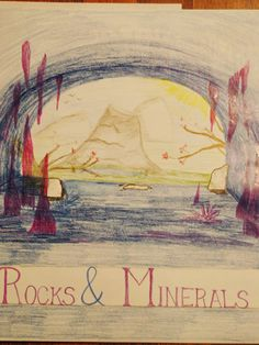 Lots of photos of our Waldorf sixth grade mineralogy main lesson book pages. The Ring of Fire, Abraham Werner, The Rock Cycle and the poem Fire and Ice Middle School Science, Science For Kids, Earth Science, Science And Nature, Physical Science, Science Education, Science Experiments, Sixth Grade Science, Rock Cycle