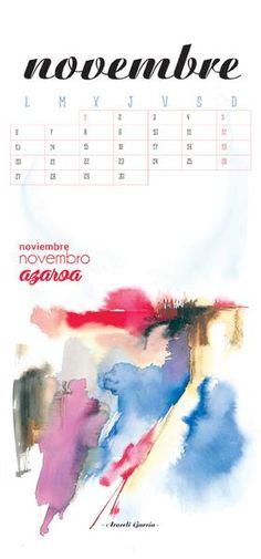 Calendario de pared 2017
