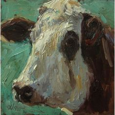 Image result for impressionist cow