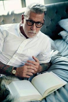 Nick Wooster : Cheveux gris!