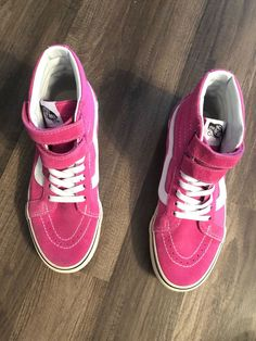 51cf59e1a6 VANS PINK HIGH TOP  fashion  clothing  shoes  accessories   unisexclothingshoesaccs  unisexadultshoes (ebay link)