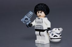 Omg, lego afro gets so much mileage Star Wars Poster, Star Wars Art, Lego Star Wars, Star Trek, Legos, Lego Humor, Starwars, Lego Stormtrooper, Star Wars Prints