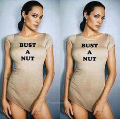 Angelina Jolie Bust A Nut
