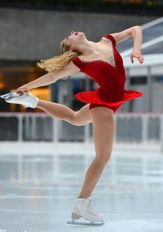 Gold practices her routine for the 'Today' show on Jan. 14 at Rockefeller Center. The 18-year-old says preparing for the Sochi Olympics is 'unreal.'
