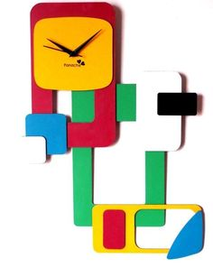 The Dream Factory Abstract Wall Clock   A Work Of Art That Brings Your Wall  To