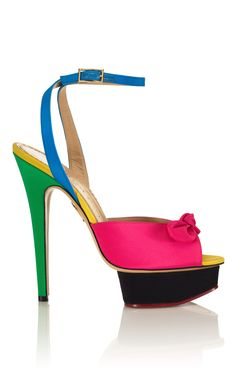 Shop Charlotte Olympia Serena Sandal - Ready-to-Wear Trunkshow at Moda Operandi | Moda Operandi