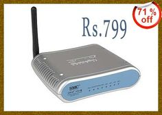 Wireless Cable DSL Router Broadband Modem at Just Rs. 799 Only