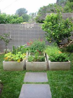 Corner yard project