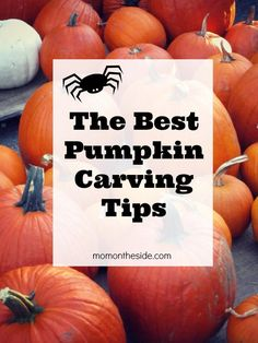 The Best Pumpkin Carving Tips + ways to help fresh pumpkins last longer! From how to choose a pumpkin, how to cut a pumpkin, & even how to light a pumpkin,