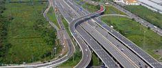 Vielspurige Autobahnen bei Bangkok Thailand, Bangkok, Country Roads, Taekook