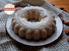Batuffolando Ricette: Budino leggero al latte di soia, mandorle e vaniglia (senza uova - senza lattosio)