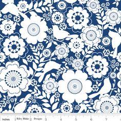 Carina Gardner - Songbird - Floral in Blue