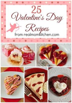 25 Valentine's Day Recipes | realmomkitchen.com