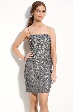 Adrianna Papell Beaded Dress available at #Nordstrom $278
