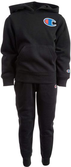 ca61a9823a Champion Little Boys 2-Pc. Heritage Fleece Track Suit   Reviews - Sets    Outfits - Kids - Macy s