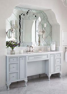 Venetian Mirror via Heather Scott Design