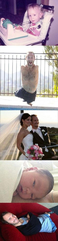 Nick Vujicic, so much respect for him!!!