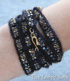 Ribband - fun knit/bead jewelry kits