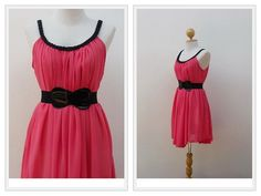 A Moment  Beautiful Dress Salmon Charming by LovelyMelodyClothing, $32.60