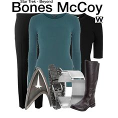 Inspired by Karl Urban as Bones McCoy in 2016's Star Trek Beyond