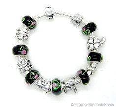 Pandora Sale, Cheap Pandora, Pandora Jewelry, Pandora Charms, Black Bracelets, Jewellery Uk, Handmade Jewelry, Delicate, Charmed