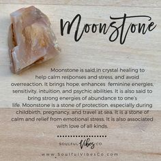 Does moonstone speak to you? - Checkout our Crystal suggestion Highlights and become and expert today! - Does moonstone speak to you? - Checkout our Crystal suggestion Highlights and become and expert today! Crystals Minerals, Crystals And Gemstones, Stones And Crystals, Crystal Guide, Crystal Magic, Crystal Healing Stones, Healing Crystal Jewelry, Solar Plexus Chakra, Crystal Meanings