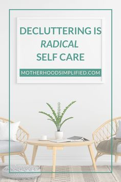 Self care is different for all of us and you have permission to choose what that looks like for you in your season of life. People often tell us cleaning & decluttering is NOT self care. I am here to tell you that it is definitely a form of RADICAL self care and that it can lead to other [more acceptable] forms of self care. Click to listen to my podcast where I'll explain why. Declutter Your Home, Organizing Your Home, Clutter Control, Seasons Of Life, Work From Home Tips, Self Improvement Tips, Decluttering, Simple Living, Self Care
