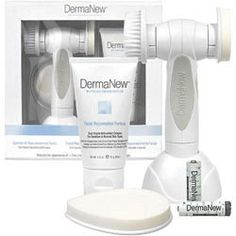 For normal to sensitive skin type. ★sale $73.95 reg $85.95★DermaNew Facial Rejuvenation #Microdermabrasion System polishes & refines the delicate skin of the face with perfectly sized naturally mined Corundum Crystals and added #antioxidants, also diminishes the appearance of fine lines & wrinkles, and decreases the visible signs of #sundamage. #skincare #beauty #antiaging