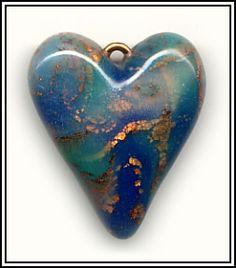 Copper Leaf Heart by jaelsjewels, via Flickr
