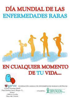 28Febrero : DÍA MUNDIAL DE LAS ENFERMEDADES RARAS / February 25: WORLD DAY OF RARE DISEASES