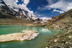 Grossglockner Glacier by Marek Kijevský Austria, River, Mountains, Nature, Outdoor, Outdoors, Naturaleza, Outdoor Games, Nature Illustration