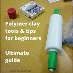 Πολυμερικός πηλός : τα μυστικά της κόλλας - Polymer day : 10 tips about adhesive   despina's studio Polymer Clay Tools, Polymer Clay Animals, Clay Tutorials, Adhesive, Tips, Blog, Blogging, Counseling