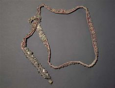 Belt created in Germany ca 1520 is now located in Paris, Musée national du Moyen Age - Thermes de Cluny