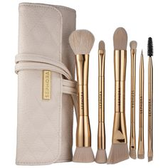 A brush set that's as luxe looking as it is high in quality.