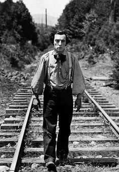 Buster Keaton - I'd love to see what he was like in real life.  I'm guessing, very Johnny Depp-ish :)