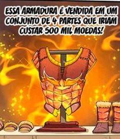 Armor Rank Bronze Furia Flamejante