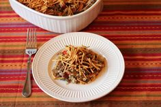 Blast From the Past Chow Mein Casserole | Enjoy a taste of your childhood with this make-ahead casserole recipe!