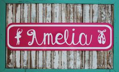 Custom Street signs..cute for kids rooms or home decor. Etsy shop YouCreateItDesigns