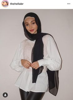 Muslim Fashion, Modest Fashion, Fashion Outfits, Casual Outfits, Cute Outfits, Muslim Beauty, Hijab Fashionista, Hijabi Girl, Mode Hijab